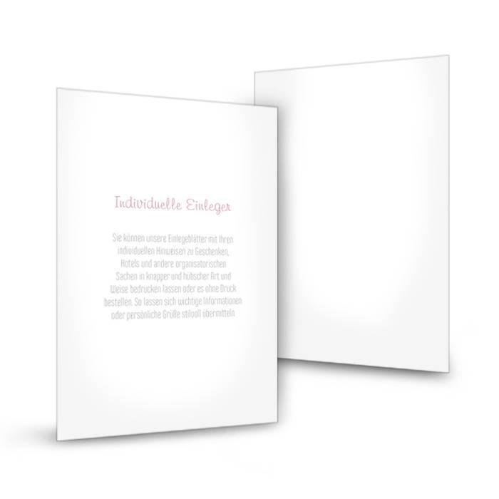 Transparenter Einleger Für Einladungen Im Postkartenformat | Cariñokarten