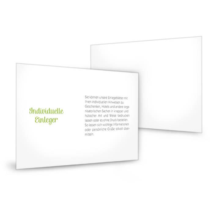 Transparenter Einleger Für Einladungen Im Format 17 X 11 Cm | Cariñokarten
