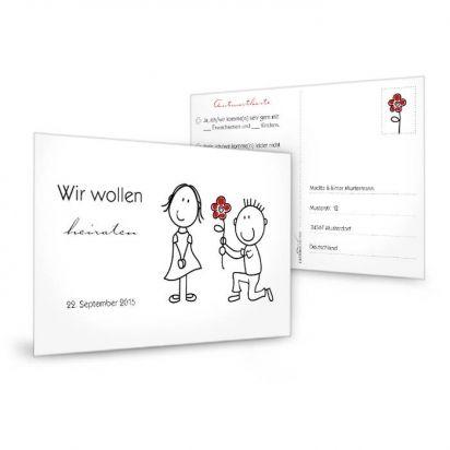 Einladung · Antwortkarten