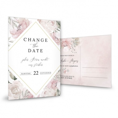 Change-the-Date Karte