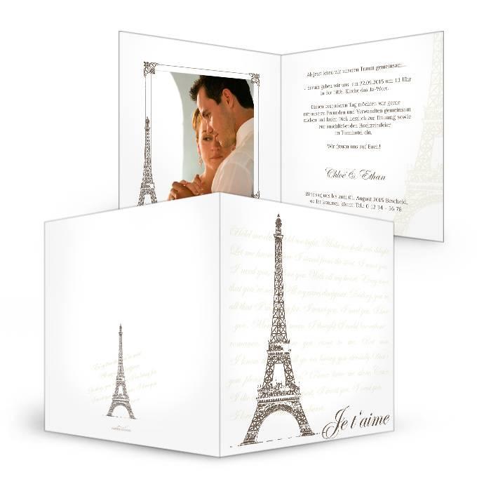 Hochzeitseinladungen 15×15