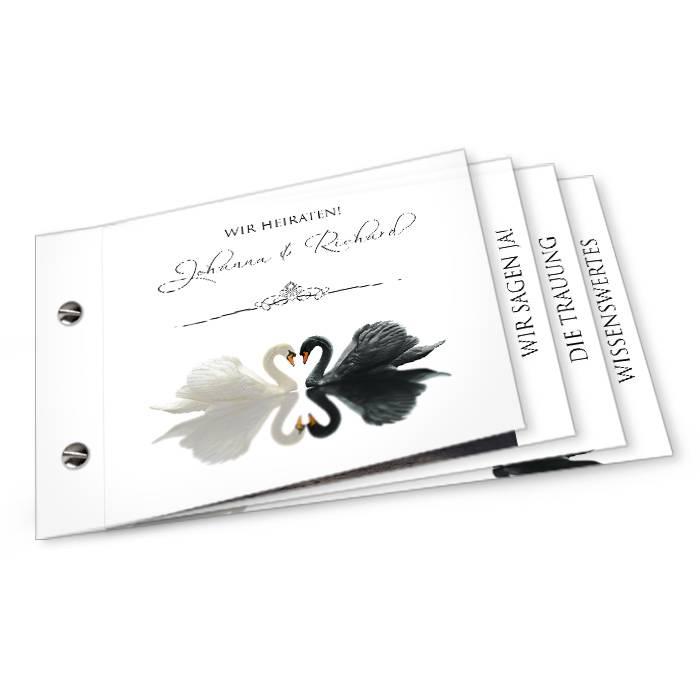 Die Karten >> Hochzeitskarten >> Einladungen >> Johanna und Richard