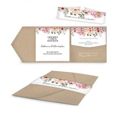 Save The Date Karte · Hochzeitseinladung