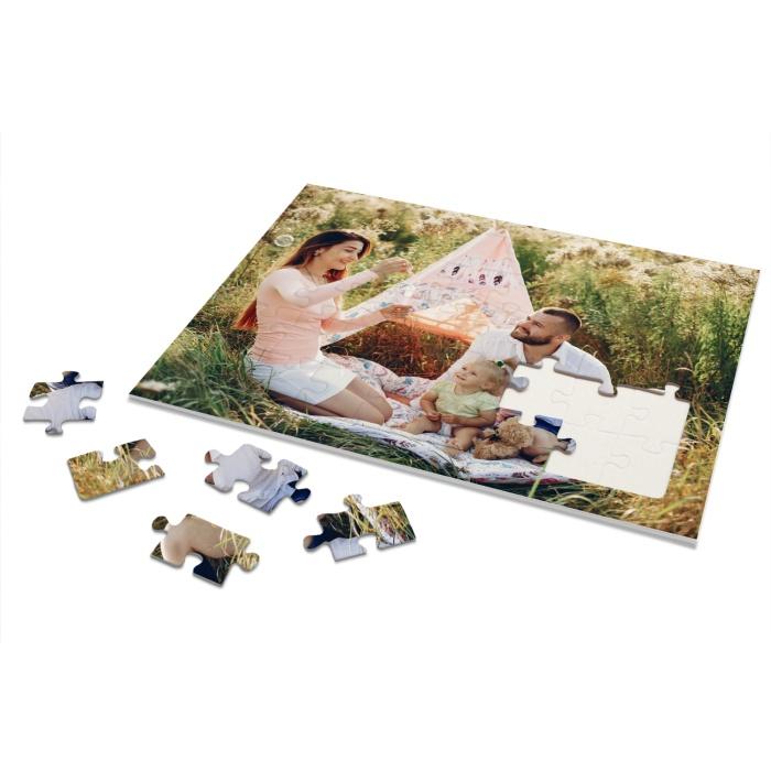 Rahmenpuzzle für Kinder eigenem großen Foto - 40 Teile