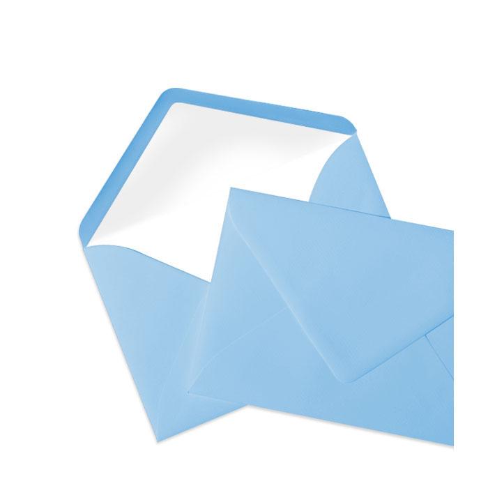 Briefumschlag Seidenfutter Dunkelblau (114 x 162 mm)