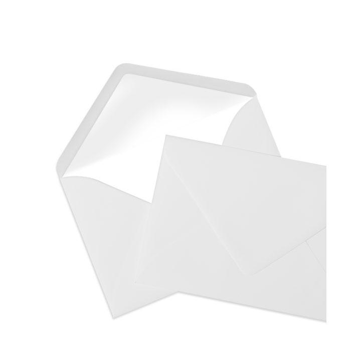 Briefumschlag Seidenfutter Eisgrau (114 x 162)