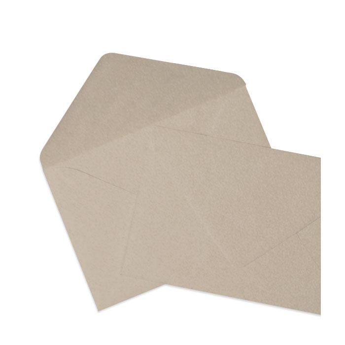 Briefumschlag Taupe Metallic (120 x 180 mm)