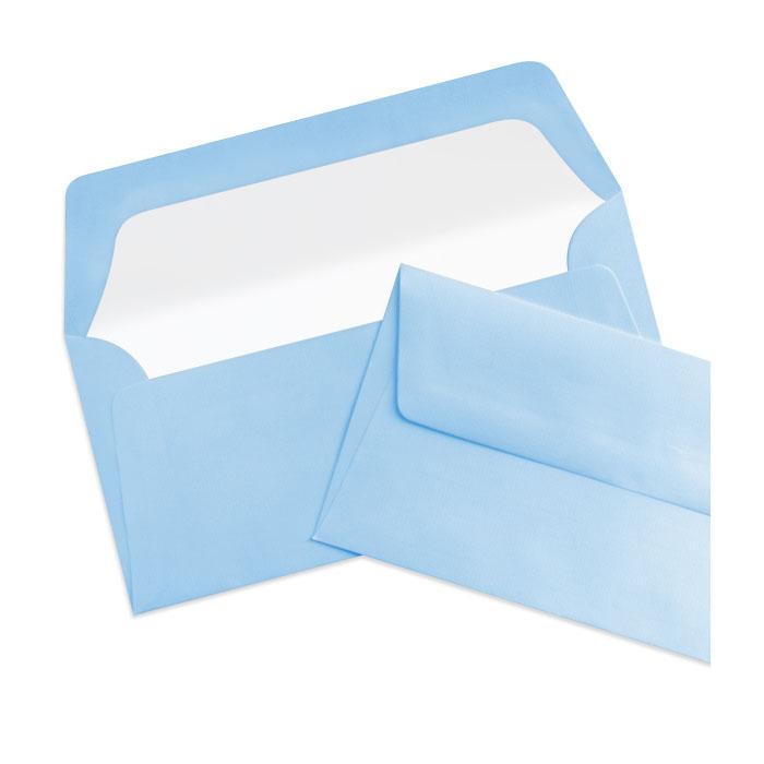 Briefumschlag Seidenfutter Dunkelblau (220 x 110 mm)