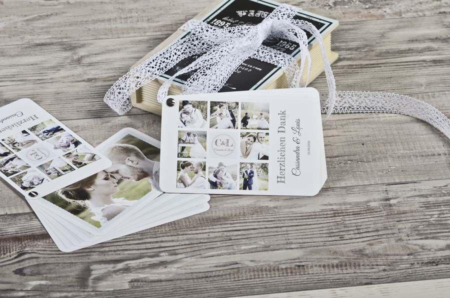 Kartenfächer Als Danksagungskarte