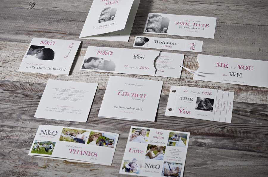 Moderne Einladungen Zur Hochzeit Selber Gestalten Carinokarten