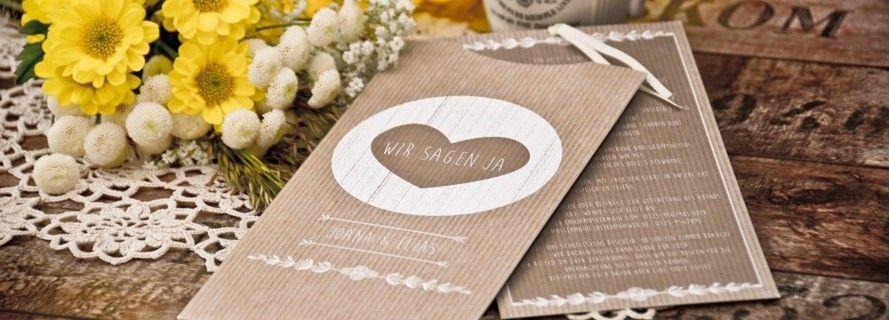 Einsteckkarten zur Hochzeit selbst gestalten  carinokarten
