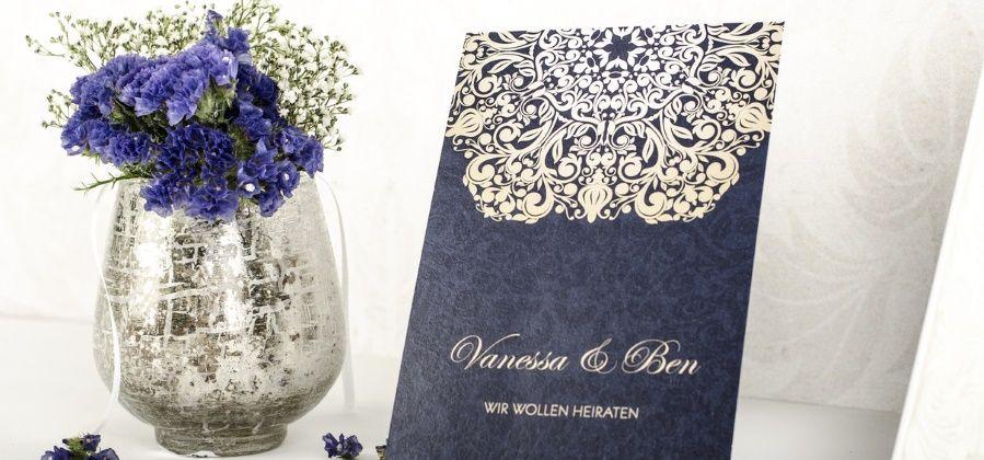 Romantische Hochzeitseinladungen Online Selbst Gestalten Carinokarten