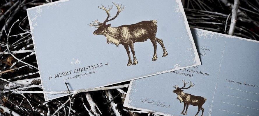 Weihnachtskarten Selbst Gestalten Foto.Weihnachtskarten Selbst Gestalten