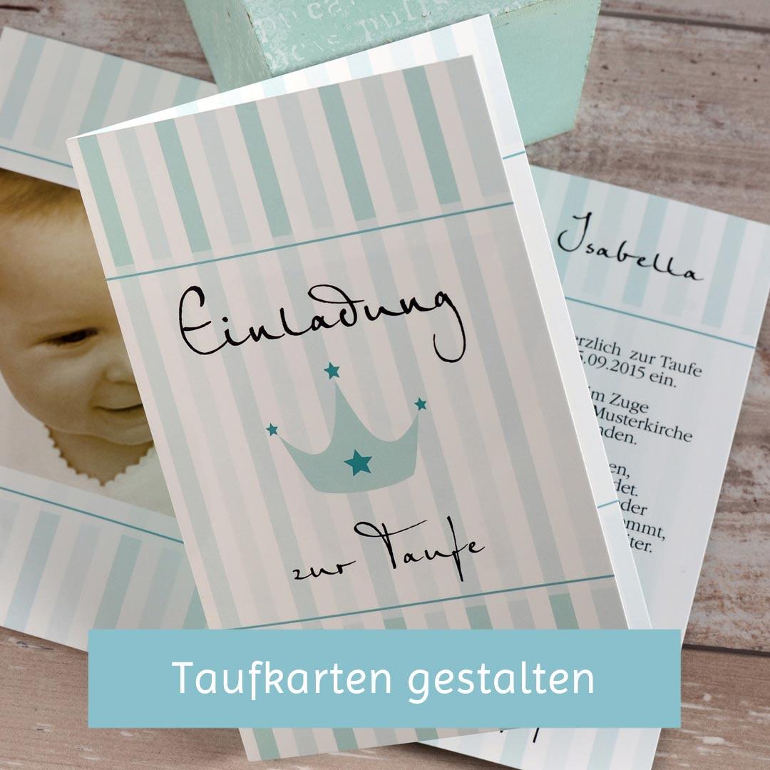 Die Schönsten Sprüche Für Die Einladung Zur Taufe Carinokarten